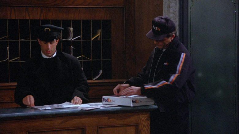 FedEx in Seinfeld Season 6 Episode 18 The Doorman (2)