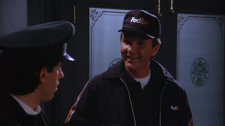 FedEx in Seinfeld Season 6 Episode 18 The Doorman (3)