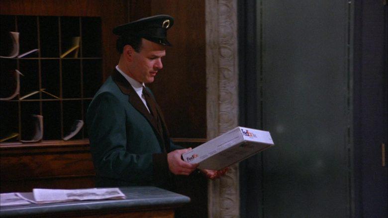 FedEx in Seinfeld Season 6 Episode 18 The Doorman (4)