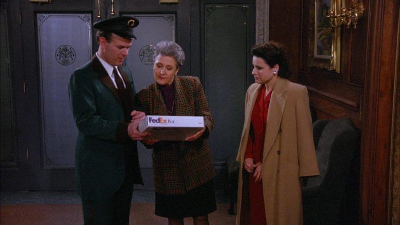 FedEx in Seinfeld Season 6 Episode 18 The Doorman (6)