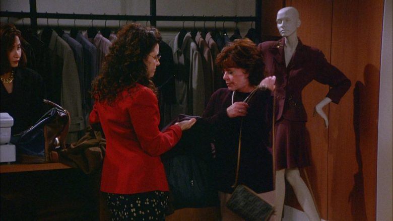 Fendi Handbag in Seinfeld Season 6 Episode 9 The Secretary