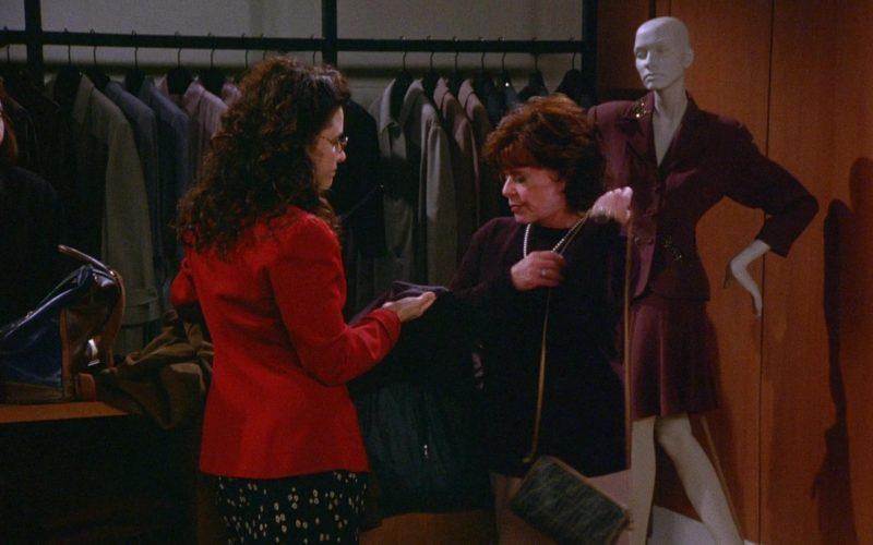 Fendi Handbag in Seinfeld Season 6 Episode 9 The Secretary