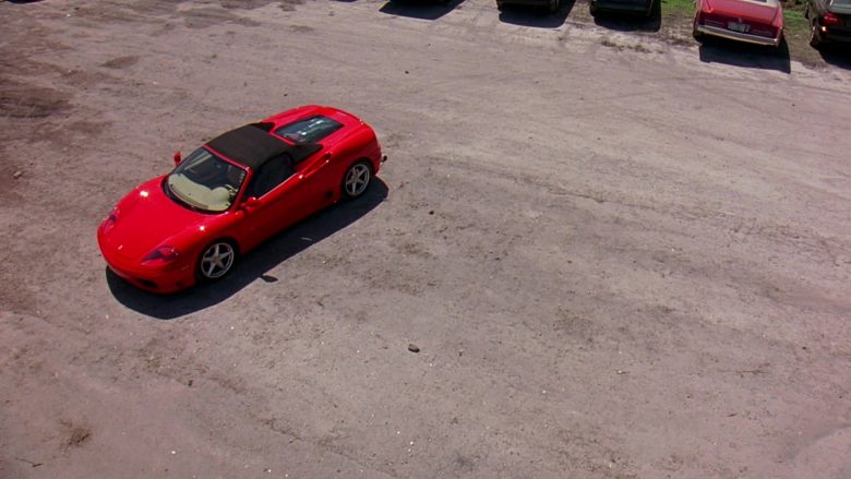 Ferrari 360 Spider Red Sports Car in 2 Fast 2 Furious (2003) - Movie Product Placement