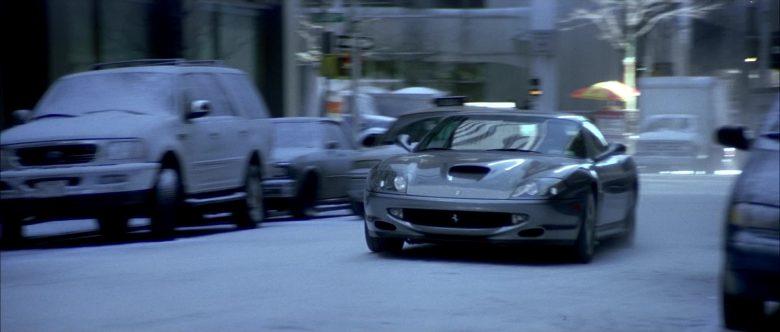 Ferrari 550 Maranello Sports Car Driven by Don Cheadle in The Family Man (3)
