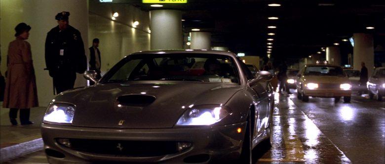Ferrari 550 Maranello Sports Car Driven by Nicolas Cage in The Family Man