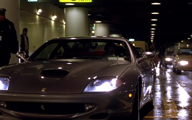 Ferrari 550 Maranello Sports Car Driven by Nicolas Cage in The Family Man