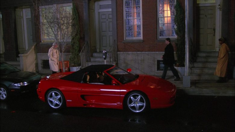 Ferrari F355 Spider Red Sports Car in Seinfeld Season 8 Episode 7 The Checks
