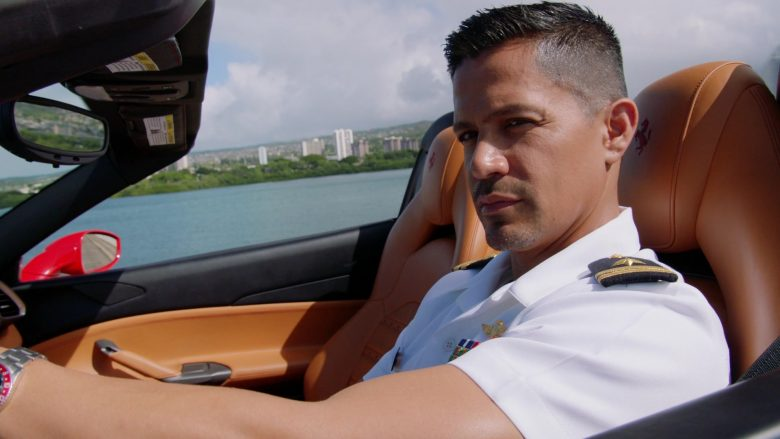 Ferrari Red Car Driven by Jay Hernandez as Thomas Magnum in Magnum P.I. Season 2 Episode 11 Day I Met the Devil (1)