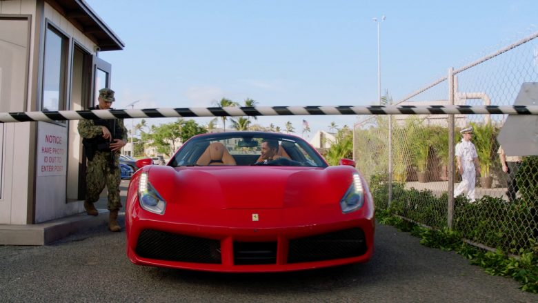 Ferrari Red Car Driven by Jay Hernandez as Thomas Magnum in Magnum P.I. Season 2 Episode 11 Day I Met the Devil (3)