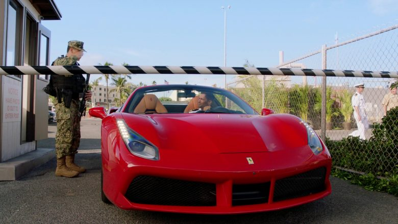 Ferrari Red Car Driven by Jay Hernandez as Thomas Magnum in Magnum P.I. Season 2 Episode 11 Day I Met the Devil (4)