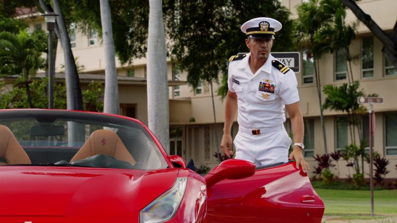 Ferrari Red Car Driven by Jay Hernandez as Thomas Magnum in Magnum P.I. Season 2 Episode 11 Day I Met the Devil (6)