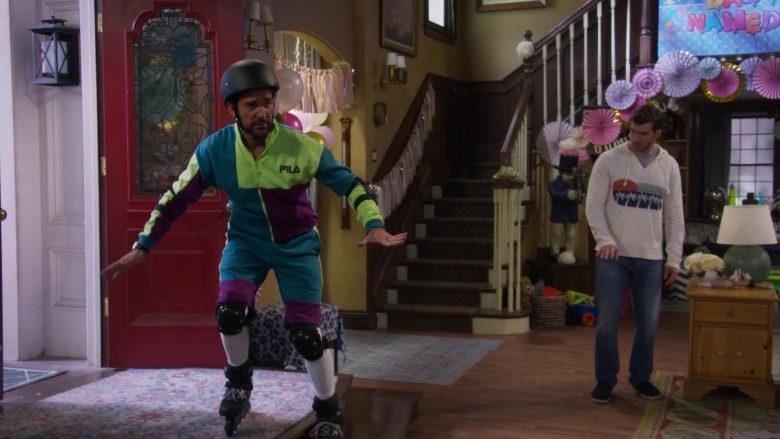 Fila Men's Jacket Worn by Juan Pablo Di Pace as Fernando in Fuller House Season 5 Episode 1 (1)