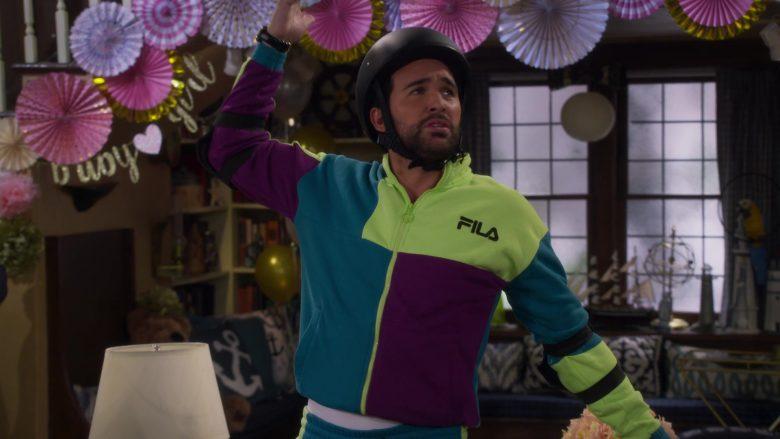 Fila Men's Jacket Worn by Juan Pablo Di Pace as Fernando in Fuller House Season 5 Episode 1 (2)
