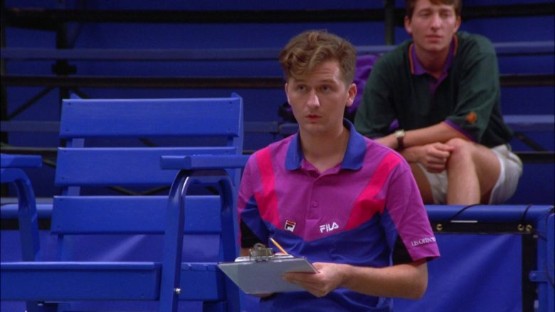 "Fila Polo Shirt For Men in Seinfeld Season 5 Episode 6 ""The Lip Reader"" (1993) TV Show"