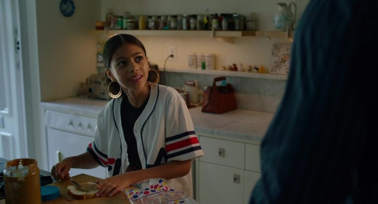 Fila Shirt Worn by Arica Himmel in Before You Know It (2019) - Movie Product Placement