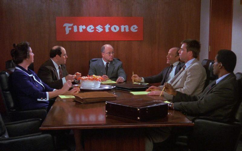 Firestone in Seinfeld Season 8 Episode 13 The Comeback (1997)