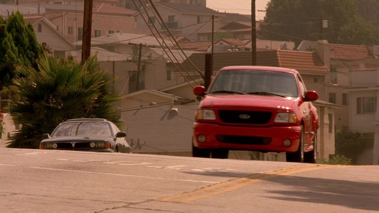 Ford F-150 SVT Lightning Red Car in The Fast and the Furious (1)