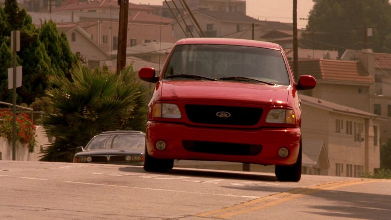 Ford F-150 SVT Lightning Red Car in The Fast and the Furious (2)