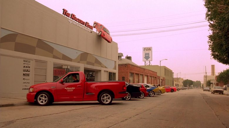 Ford F-150 SVT Lightning Red Car in The Fast and the Furious (3)