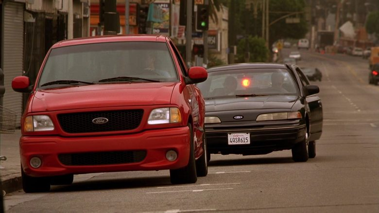 Ford F-150 SVT Lightning Red Car in The Fast and the Furious (4)
