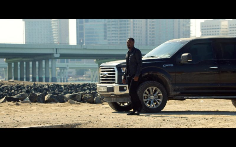 Ford F150 Full-Size Pickup Truck Used by Corey Hawkins in 6 Underground (1)