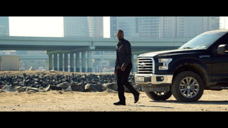 Ford F150 Full-Size Pickup Truck Used by Corey Hawkins in 6 Underground (2)