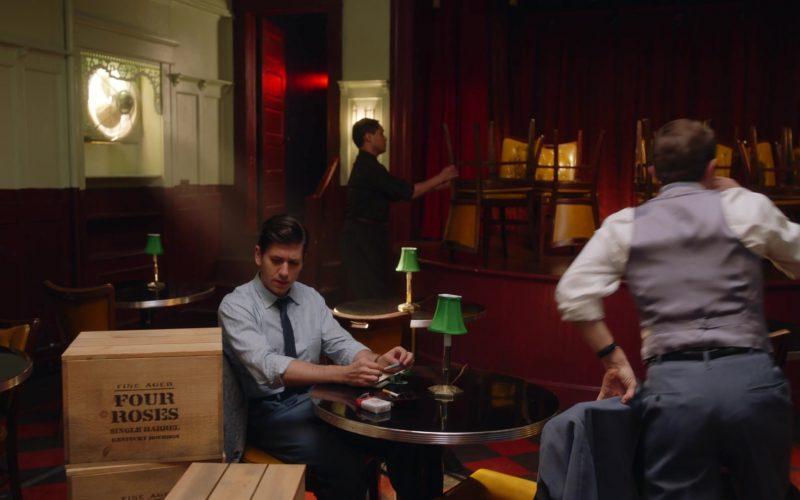 Four Roses Bourbon in The Marvelous Mrs. Maisel Season 3 Episode 8 (1)