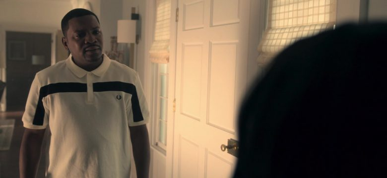 Fred Perry Polo Shirt Worn by Mekhi Phifer as Markus Knox in Truth Be Told Season 1 Episode 5 Graveyard Love (3)