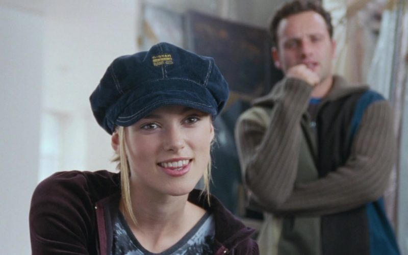 G-Star RAW Denim Hat Worn by Keira Knightley in Love, Actually (3)