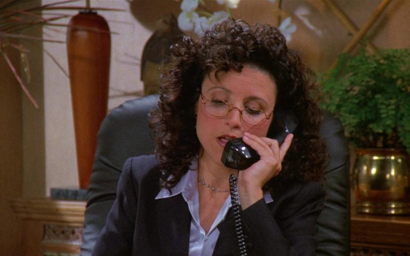 GE Telephone Used by Julia Louis-Dreyfus as Elaine Benes in Seinfeld Season 8 Episode 4 The Little Kicks