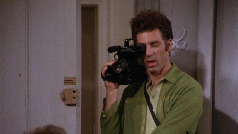 GE VHS Movie Video Camera Used by Michael Richards as Cosmo Kramer in Seinfeld Season 3 Episode 8 (1)
