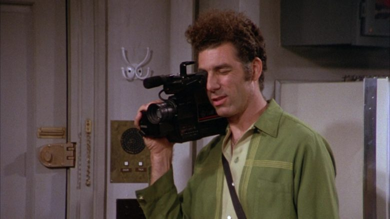 GE VHS Movie Video Camera Used by Michael Richards as Cosmo Kramer in Seinfeld Season 3 Episode 8 (2)