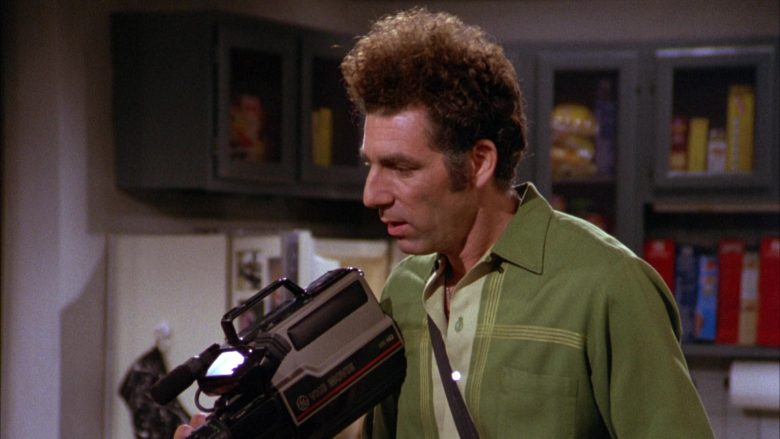 GE VHS Movie Video Camera Used by Michael Richards as Cosmo Kramer in Seinfeld Season 3 Episode 8 (4)