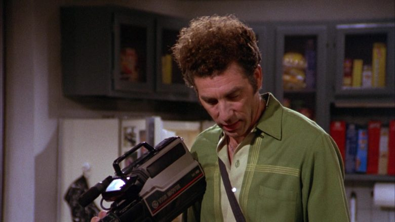 GE VHS Movie Video Camera Used by Michael Richards as Cosmo Kramer in Seinfeld Season 3 Episode 8 (5)