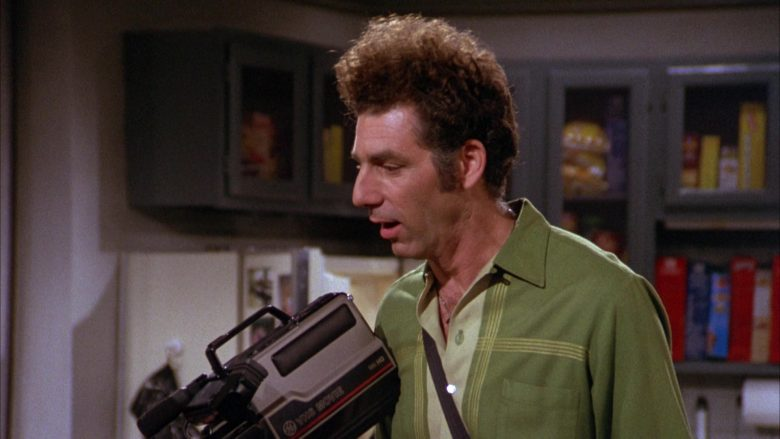 GE VHS Movie Video Camera Used by Michael Richards as Cosmo Kramer in Seinfeld Season 3 Episode 8 (6)