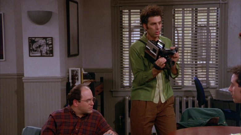 GE VHS Movie Video Camera Used by Michael Richards as Cosmo Kramer in Seinfeld Season 3 Episode 8 (7)