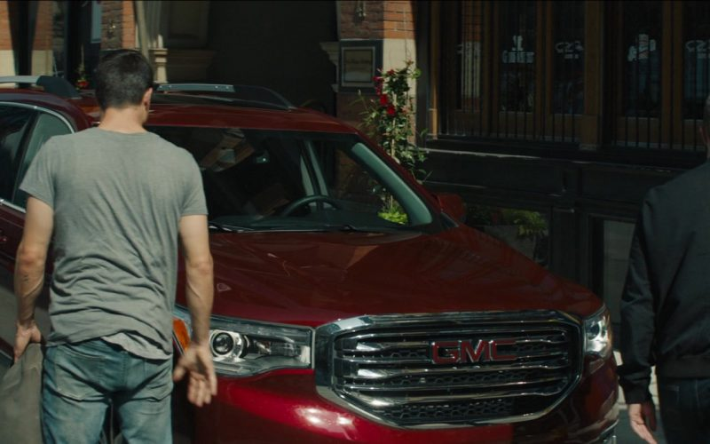 GMC Red Car in Code 8 (2019)