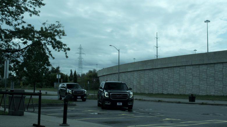 GMC Yukon SUVs in V Wars Season 1 Episode 8 Red Rain (2)