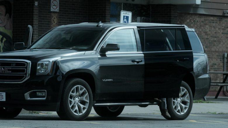 GMC Yukon SUVs in V Wars Season 1 Episode 8 Red Rain (4)