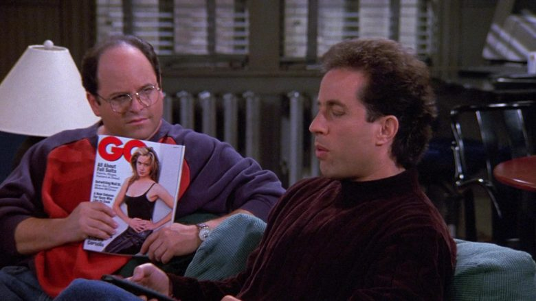 GQ Magazine Held by Jason Alexander as George Costanza in Seinfeld Season 9 Episode 5