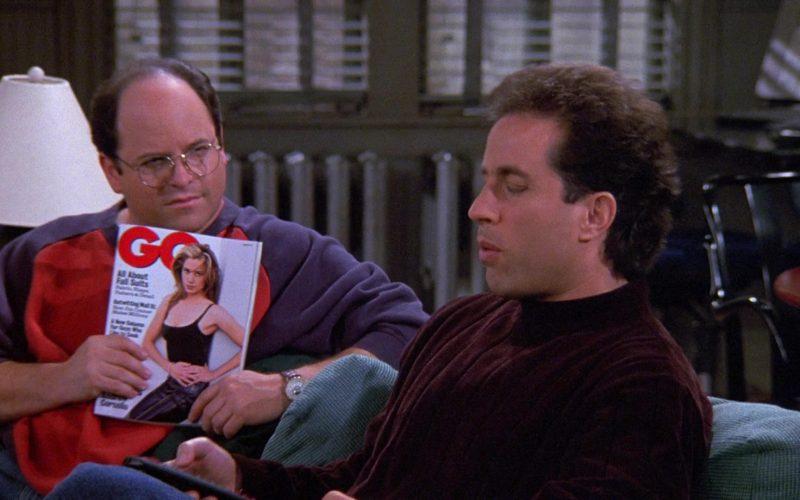 GQ Magazine Held by Jason Alexander as George Costanza in Seinfeld Season 9 Episode 5