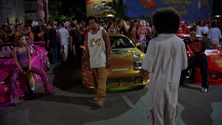 GReddy Stickers in 2 Fast 2 Furious (1)