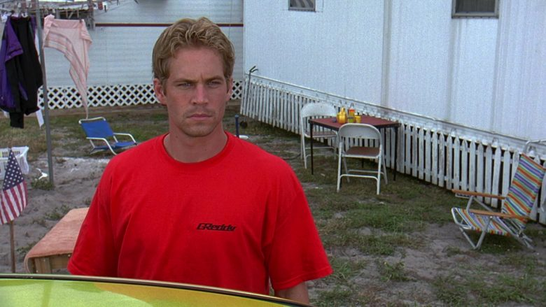 GReddy T-Shirt Worn by Paul Walker as Brian O'Conner in 2 Fast 2 Furious (1)