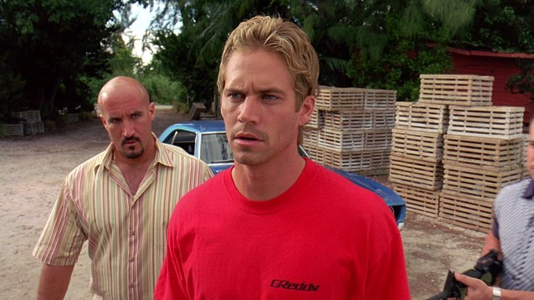 GReddy T-Shirt Worn by Paul Walker as Brian O'Conner in 2 Fast 2 Furious (3)