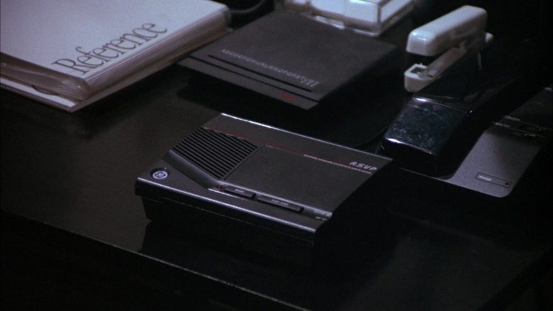 General Electric RSVP Answering Machine in Seinfeld Season 4 Episode 9 The Opera