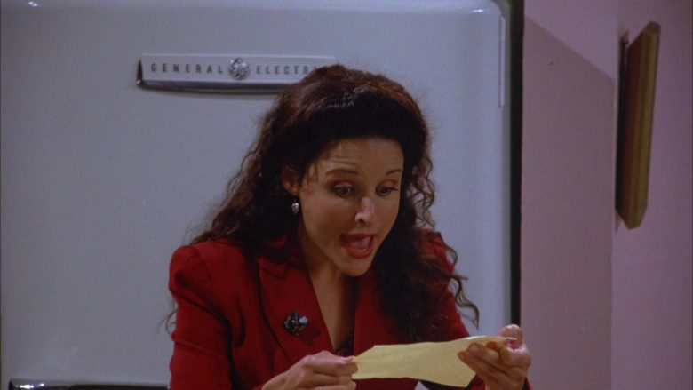 General Electric Refrigerator Used by Julia Louis-Dreyfus as Elaine Benes in Seinfeld Season 5 Episode 4 (2)