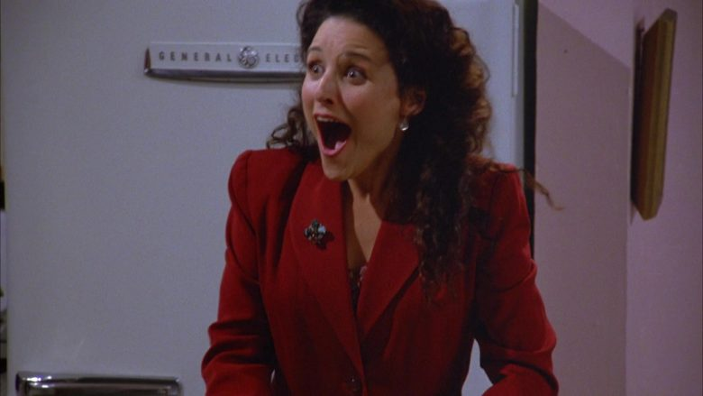 General Electric Refrigerator Used by Julia Louis-Dreyfus as Elaine Benes in Seinfeld Season 5 Episode 4 (3)