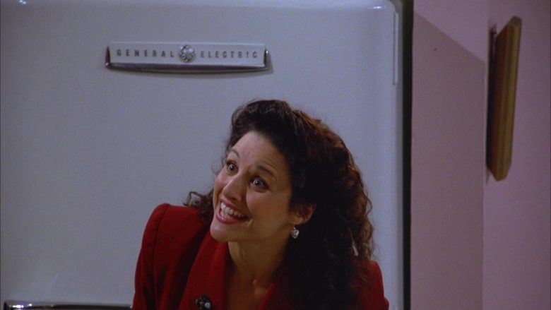 General Electric Refrigerator Used by Julia Louis-Dreyfus as Elaine Benes in Seinfeld Season 5 Episode 4 (4)