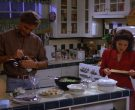 General Electric Refrigerator Used by Julia Louis-Dreyfus as Elaine Benes in Seinfeld Season 5 Episode 4 (6)