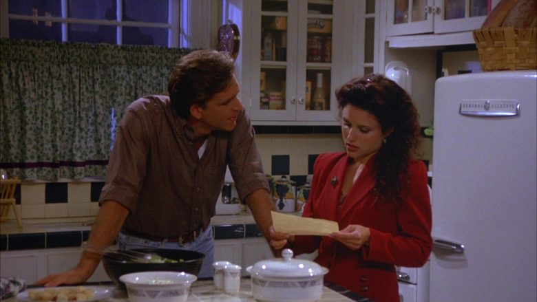 General Electric Refrigerator Used by Julia Louis-Dreyfus as Elaine Benes in Seinfeld Season 5 Episode 4 (7)